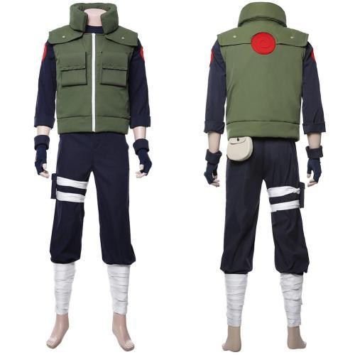 Naruto Hatake Kakashi Uniform Cosplay Costume