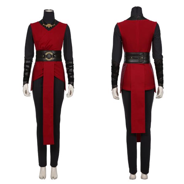 Star Wars Jedi:Fallen Order Halloween Carnival Costume Nightsister Merrin Women Kimono Dress Outfit Cosplay Costume