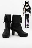 RWBY Black Trailer Blake Belladonna Cosplay Boots Shoes