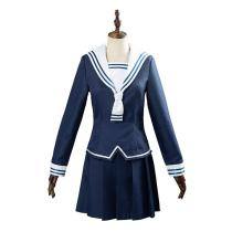 Fruits Basket Tohru Honda Cosplay Navy Costume School Uniform