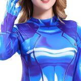 METROID Samus Aran SuperheroJumpsuits Cosplay Costume