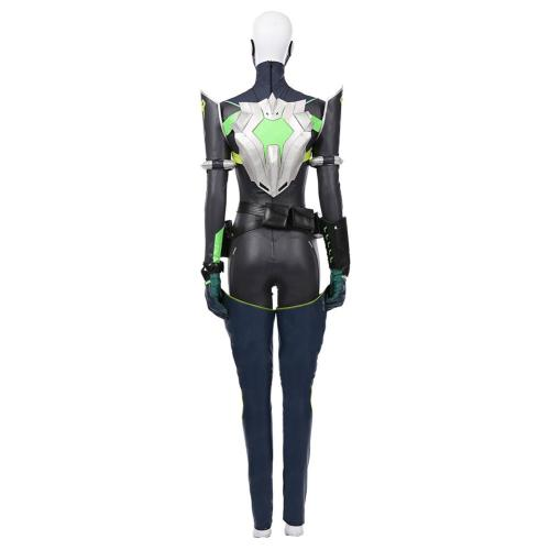 Game VALORANT Women Jumpsuit Suit Viper Halloween Carnival Outfit Cosplay Costume