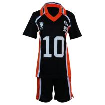 Haikyuu Cosplay Costume Karasuno Koukou High School Volleyball Club Hinata Shoyo Sportswear Shirt Jersey