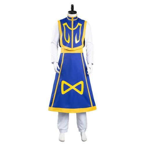 Hunter x Hunter Dress Outfit Kurapika Halloween Carnival Suit Cosplay Costume