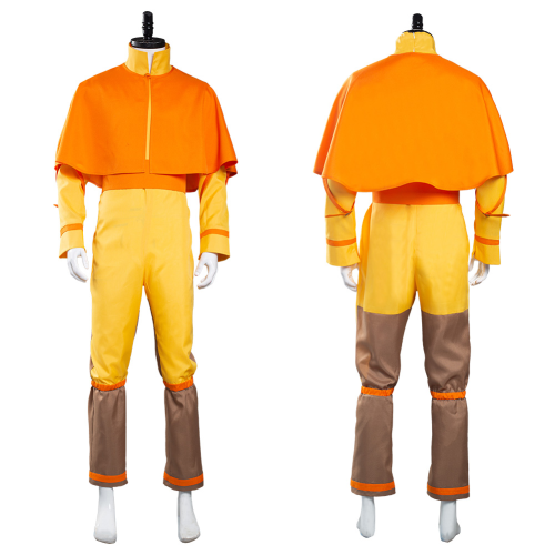 Avatar: The Last Airbender Jumpsuit Outfit Avatar Aang Halloween Carnival Suit Cosplay Costume