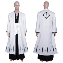 Anime Bleach Halloween Carnival Suit Urahara Kisuke Coat Pants Outfit Cosplay Costume