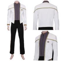 Star Trek-Data Jacket Pants Outfits Halloween Carnival Suit Cosplay Costume