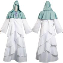 The Promised Neverland Long Robe Cloak Outfit Mujika Halloween Carnival Suit Cosplay Costume