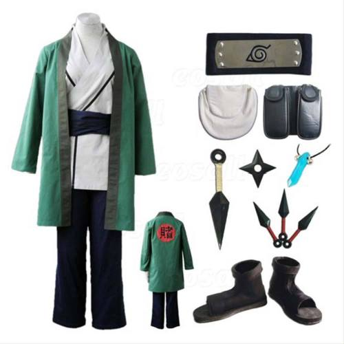 Naruto Tsunade Whole Set Cosplay Costume