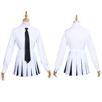 Anime Danganronpa Halloween Carnival Suit Monokuma Women Uniform Dress Outfit Cosplay Costume