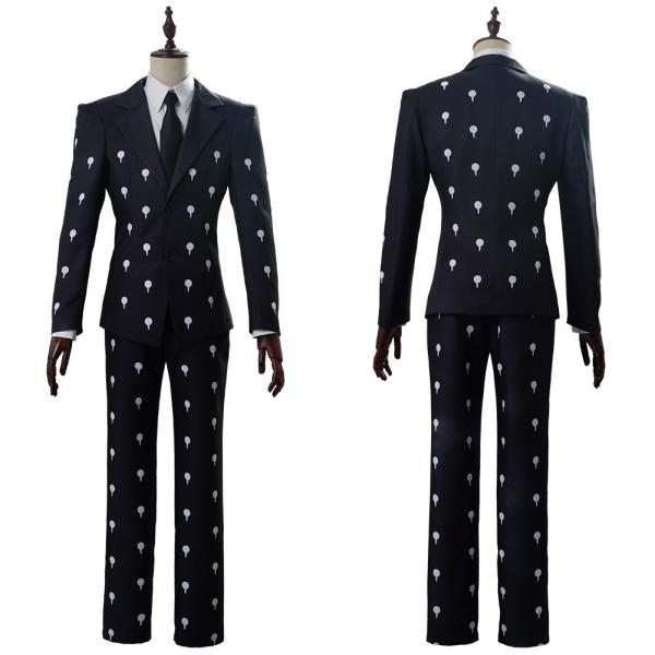 JoJo's Bizarre Adventure Golden Wind Bruno Bucciarati Slim Fit Funeral Cosplay Costume