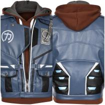 Battle Royale Jacket Hoodie Outfit Hyper Scape Halloween Carnival Suit Cosplay Costume