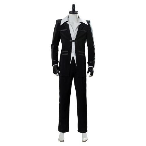 Final Fantasy 7 Remake Costume Reno Uniform Cosplay Costume