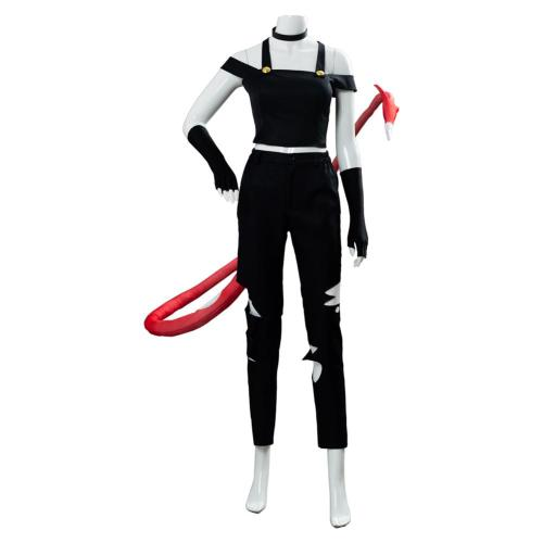 Millie Hazbin Hotel Helluva Boss Suit Cosplay Costume