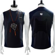 Death Stranding Sam Porter Bridges Dream Catcher Necklace Nomad Restroom Vest Cosplay Costume