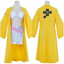 Danganronpa V3: Killing Harmony Coat Belt Outfit Yonaga Angie Halloween Carnival Suit Cosplay Costume