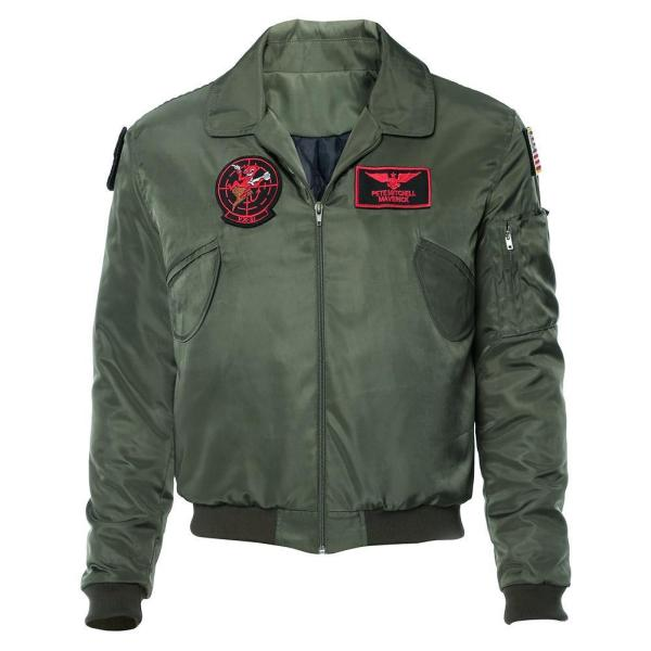 Top Gun: Maverick Bomber Jacket Cosplay Costume