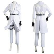 Cells at Work! Coat Pants Outfits Code Black/Hataraku Saibou Black -Hakkekkyuu/White Blood Cell Halloween Carnival Suit Cosplay Costume
