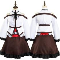 Mushoku Tensei: Jobless Reincarnation Dress Outfit Eris Boreas Greyrat Halloween Carnival Suit Cosplay Costume