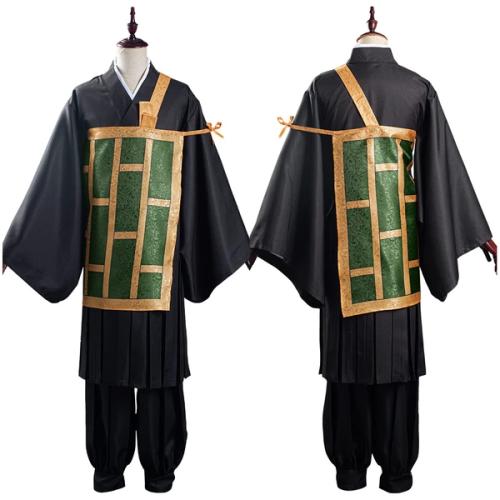 Anime Jujutsu Kaisen Kimono Outfit Suguru Getou Halloween Carnival Suit Cosplay Costume