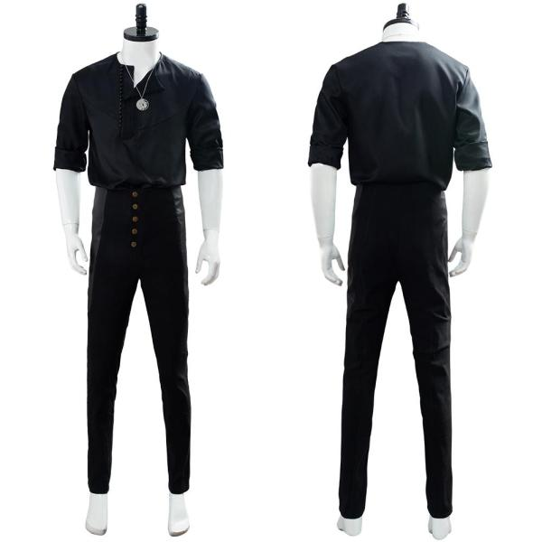 Geralt of Rivia The Witcher TV Casual Wear Cosplay Costume