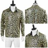 Tiger King Halloween Carnival Costume Joe Exotic Adult Men Shirt Cosplay Costume