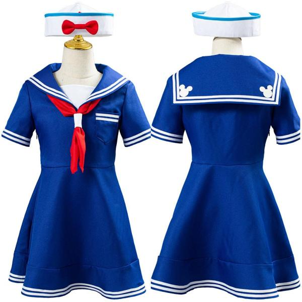 Shellie May Bear Shelliemay Uniform Dress Halloween Carnival Costume Cosplay Costume for Kids Chidren
