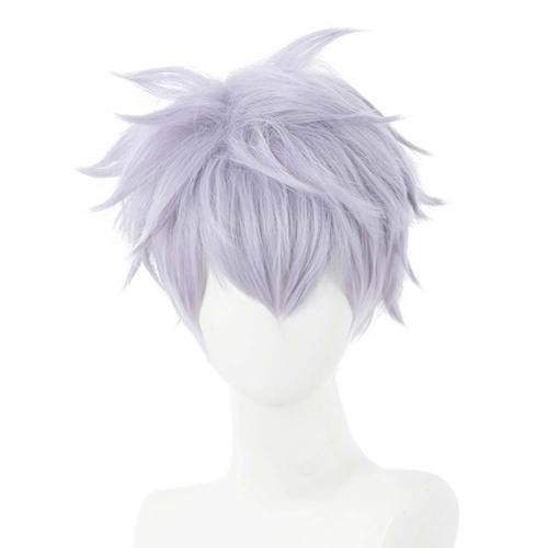 Anime Jujutsu Kaisen Heat Resistant Synthetic Hair Satoru Gojou Carnival Halloween Party Props Cosplay Wig