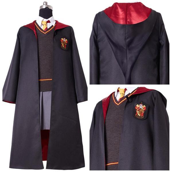 Harry Potter Hermione Granger Dress Costume Hogwarts Gryffindor Uniform for kids children