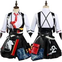 Honkai Impact 3rd  X EVA NEON GENESIS EVANGELION Shirt Skirt Outfit Asuka Langley Soryu Halloween Carnival Suit Cosplay Costume