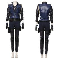 Mortal Kombat 11 Sonya Uniform Cosplay Costume