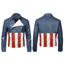 Avengers Game Jacket Coat Only Captain America Cosplay Costume