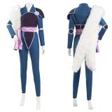 Yashahime: Princess Half-Demon/Hanyou no Yashahime: Sengoku Otogizoushi Pants Outffit Setsuna Halloween Carnival Suit Cosplay Costume