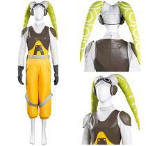 Star Wars Rebels Women Vest Pants Outfits Hera Syndulla Halloween Carnival Suit Cosplay Costume