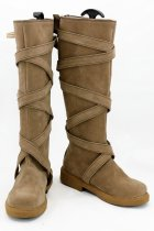 Game of Thrones Season 7 Daenerys Targaryen Brown Boots Cosplay Shoes