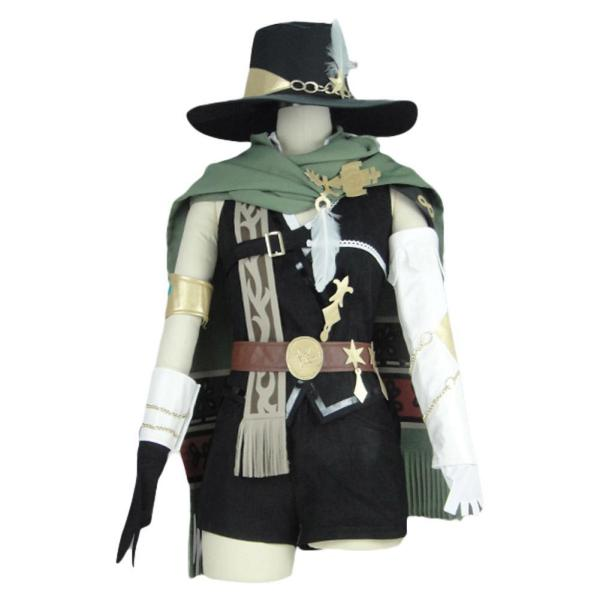 Final Fantasy XIV FF14 Physical Ranged DPS Bard Uniform Cosplay Costume