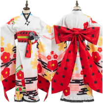Fate/Grand Order 5th anniversary Women Kimono Dress Outffit Kiyohara no Nagiko Halloween Carnival Suit Cosplay Costume