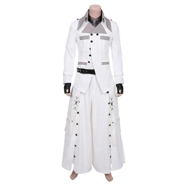 Final Fantasy VII Remake Halloween Carnival Costume Rufus Shinra Men Outfit Cosplay Costume