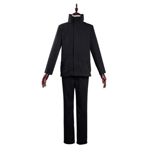 Jujutsu Kaisen School Uniform Outfit Satoru Gojo Halloween Carnival Suit Cosplay Costume