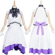 FGO Fate/Grand Order The Fifth Anniversary Dress Outfit Mash Kyrielight Halloween Carnival Suit Cosplay Costume