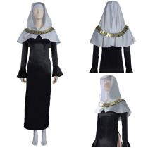 Fate/Grand Order FGO Nun Robes Dress Outfit Sessyoin Kiara Halloween Carnival Suit Cosplay Costume