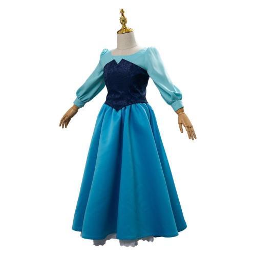 Mermaid Ariel Child.Ver Kid Cosplay Costume