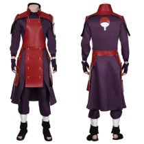 NARUTO Top Pants Outfit Uchiha Madara Halloween Carnival Suit Cosplay Costume