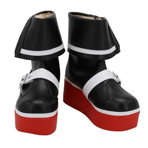 Game Dead or Alive 5 Marie Rose Cosplay Shoes Anime Party Boots Custom Made