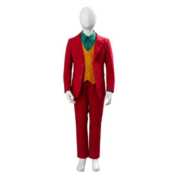 Joker Origin Romeo Joaquin Phoenix Arthur Fleck Cosplay Costume Outfit DC For Kid