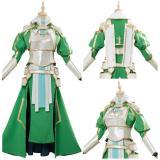 Anime Sword Art Online SAO Leafa Suguha Kirigaya Cosplay Costume Halloween Outfit
