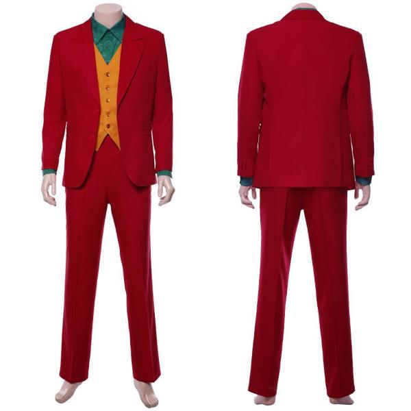 Joker 2019 Joaquin Phoenix Arthur Fleck Joker Cosplay Costume