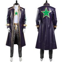 JoJo's Bizarre Adventure: Stone Ocean Pants Coat Outfit Kujo Jotaro Halloween Carnival Suit Cosplay Costume