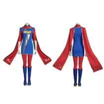 Marvel's Avengers Women Uniform Outfit Ms. Marvel (Kamala Khan) Halloween Carnival Suit Cosplay Costume