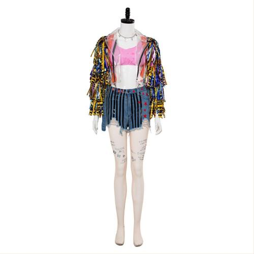 Birds of Prey (And the Fantabulous Emancipation of One Harley Quinn) Cheerleader Outfit Cosplay Costume